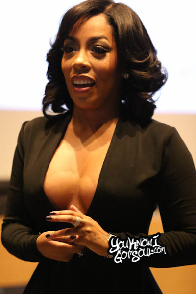 K. Michelle AWBAH Album Listening October 2014-2
