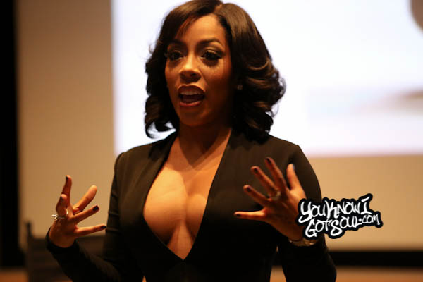 K. Michelle AWBAH Album Listening October 2014-3
