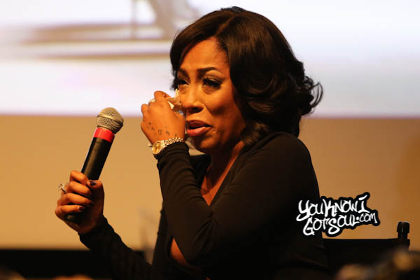 K. Michelle AWBAH Album Listening October 2014-5