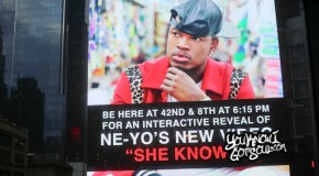 "Recap & Photos: Ne-Yo ""She Knows"" Interactive Video Unveiling in Times Square 10/1/14"