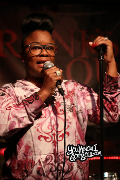 Roxanne Shante Franks Lounge October 2014