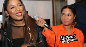 "Recap & Photos: Victoria Monet ""Nightmares & Lullabies"" Listening Event Hosted by Angela Yee 10/21/14"