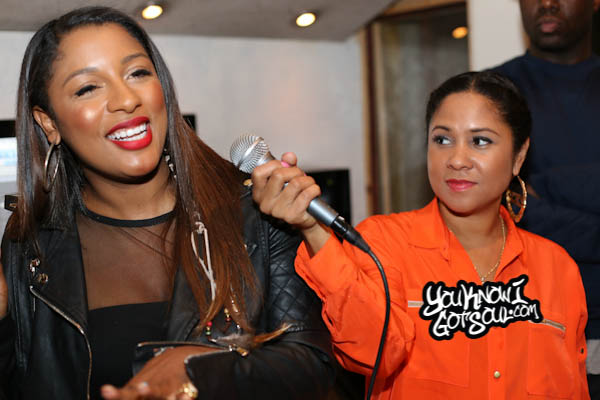 Victoria Monet Angela Yee Listening Event October 2014-2