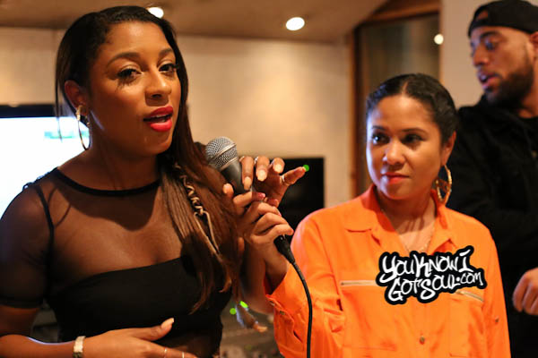 Victoria Monet Angela Yee Listening Event October 2014-4