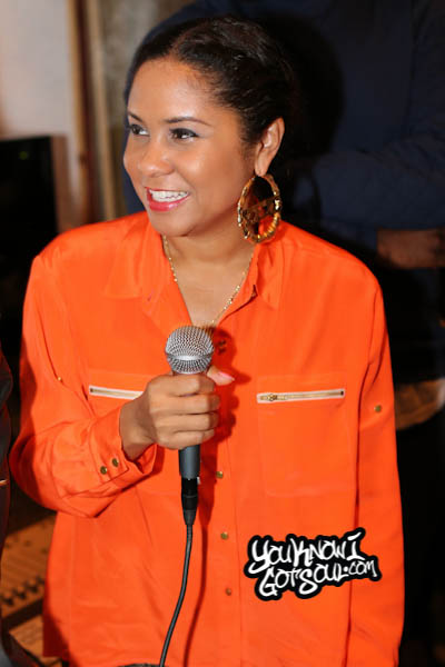 Victoria Monet Angela Yee Listening Event October 2014