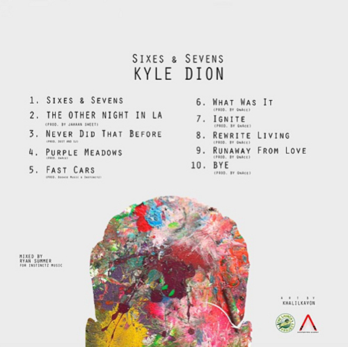 Kyle Dion Sixes and Sevens