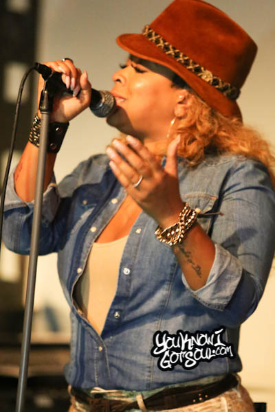 Monifah Syleena Johnson SOBs Chapter 6 Album Release 2014
