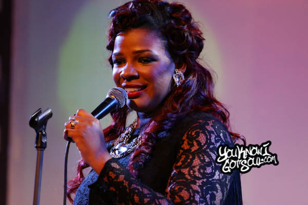 Syleena Johnson SOBs Chapter 6 Album Release 2014-2