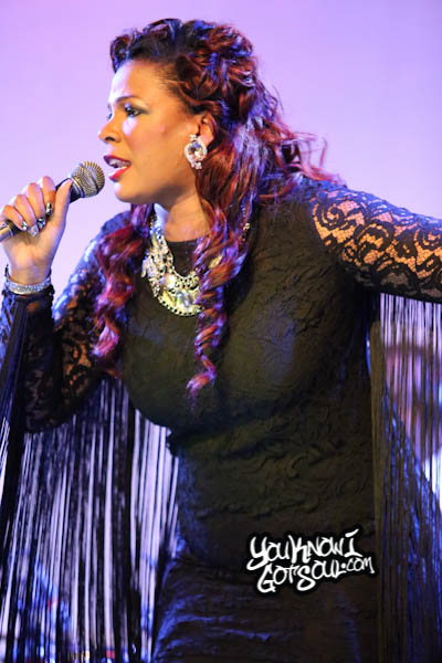 Syleena Johnson SOBs Chapter 6 Album Release 2014-3