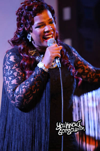 Syleena Johnson SOBs Chapter 6 Album Release 2014-5