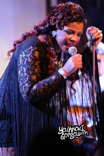 Syleena Johnson SOBs Chapter 6 Album Release 2014-7