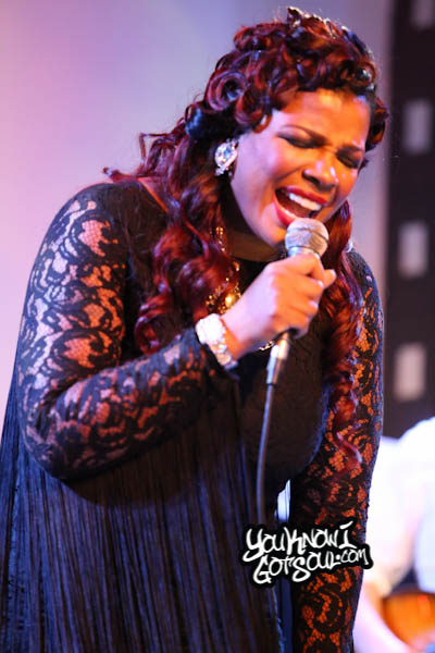 Syleena Johnson SOBs Chapter 6 Album Release 2014-8