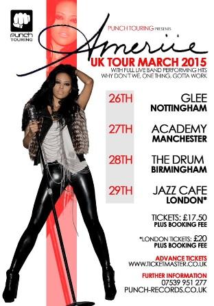 Ameriie UK Tour 2015