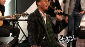 Recap & Photos: Kevin Ross Performs at Glade Pop Up Store in NYC 12/10/14