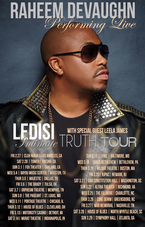 Raheem Ledisi Tour