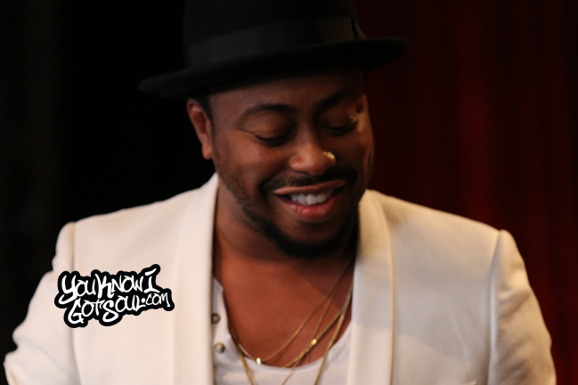 Raheem DeVaughn Livestream Album Listening 2015 - slider-1