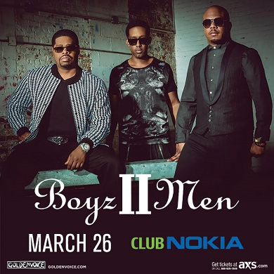 BoyzIIMen Club Nokia
