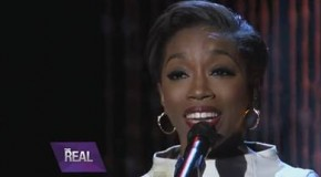 "Estelle Performs ""Silly Girls"" on The Real"