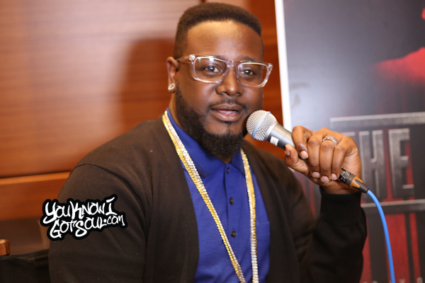 T-Pain The Iron Way Mixtape Listening Event March 2015-3