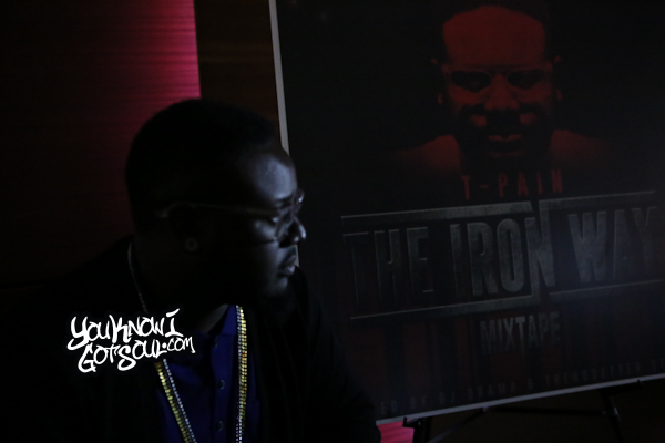 T-Pain The Iron Way Mixtape Listening Event March 2015-4