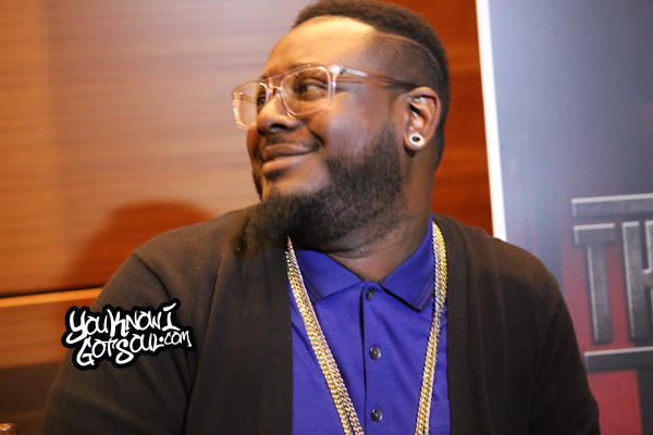 T-Pain The Iron Way Mixtape Listening Event March 2015-5