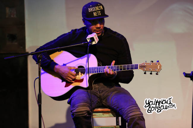 Lyfe Jennings Performing New Songs I Love You & When It All Came Crashing Down Live Acoustic 4/28/15