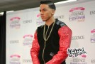 """Adrian Marcel Performing """"My Life"""" Acapella in the 2015 Essence Festival Press Room"""