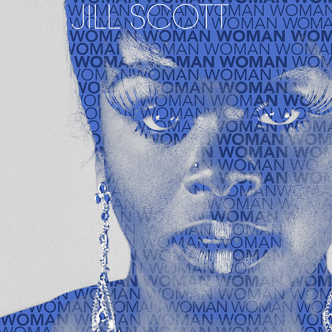 Jill Scott Woman Album Cover