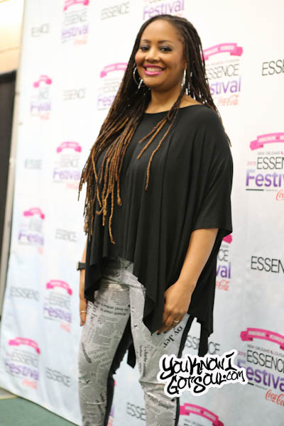 Lalah Hathaway 2015 Essence Festival Press Room-1
