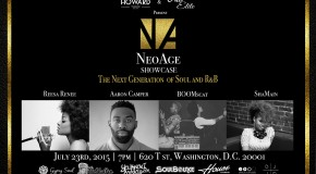 YouKnowIGotSoul to Sponsor Upcoming Neo Age Showcase at the Howard Theater in DC  7/23/15