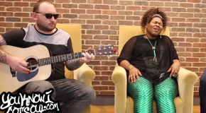 "Exclusive: Stacy Barthe Performs an Acoustic Version of ""Hey You There"" for YouKnowIGotSoul"