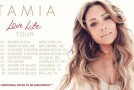"Tamia Announces ""Love Life"" Tour, Set to Begin Aug 20th in NYC"