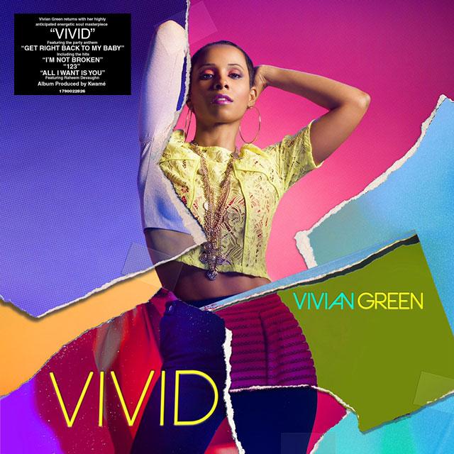 Vivian-Green-Vivid-Album-Cover