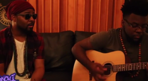 "YouKnowIGotSoul Presents: pUrPlE wOnDaLuV – Performing an Acoustic Version of ""Time is Now"""