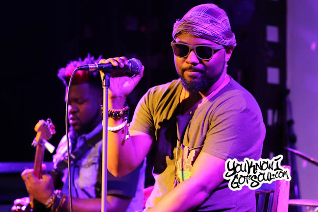 Watch: Musiq Soulchilds Persona Purple WondaLuv Performing Live at Sol Village in NYC