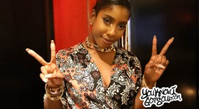 Exclusive: Sevyn Streeter Poses for an Impromptu Photo Shoot at Atlantic Records Networking Event