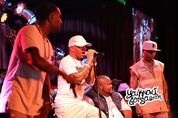 Dru Hill Jazz Sisqo Tao Nokio Live BB Kings Sep 2015