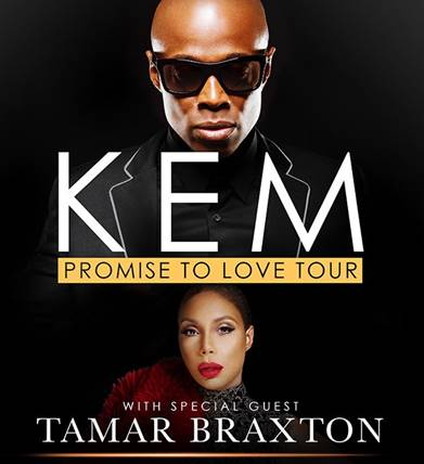 "Kem Announces 2015 ""Promise to Love Tour"" with Special Guest Tamar Braxton"