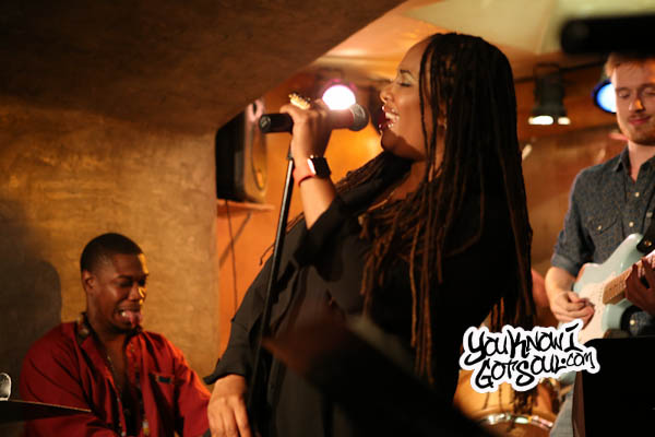 Lalah Hathaway Performing Live at her Album Listening in NYC 2015