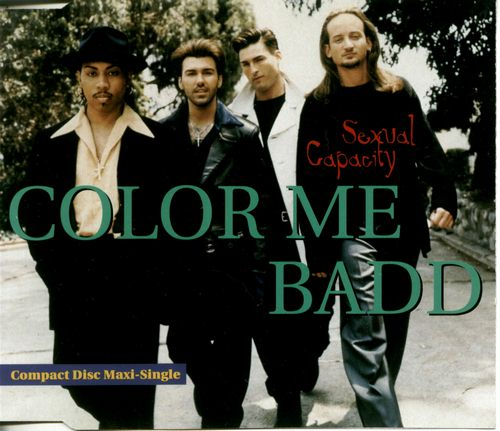 Color Me Badd Sexual Capacity