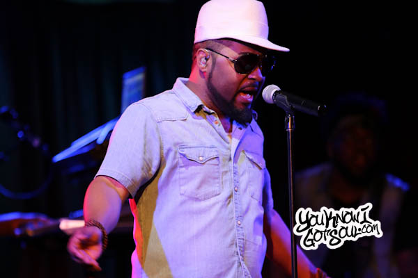 Musiq Soulchild BB Kings Oct 2015