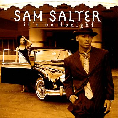 Sam Salter It's On Tonight Album Cover