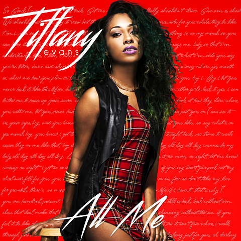 Tiffany Evans All Me EP Cover