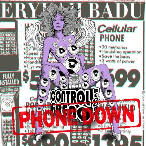 Erykah Badu Phone Down Single Cover