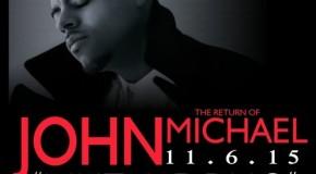 """New Music: John Michael """"Inevitable"""" + Releases New Album """"Like a Drug"""""""
