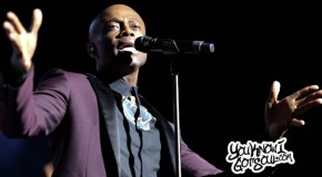 "Kem Performs on ""Promise to Love Tour"" at Madison Square Garden with Jazmine Sullivan"