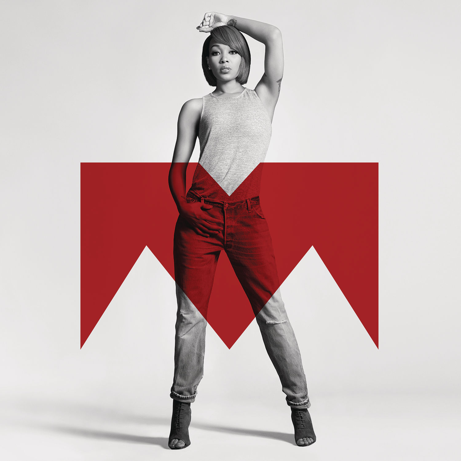 Monica Code Red Album Cover