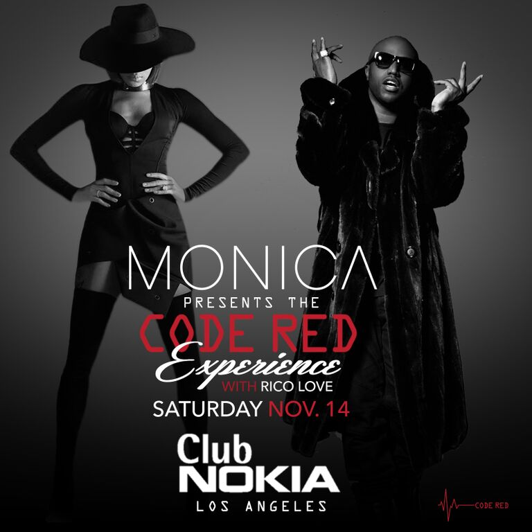 Monica Code Red Club Nokia Show
