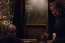 "Stevie Wonder & Andra Day Perform ""Someday at Christmas"" in Apple Music Commercial"
