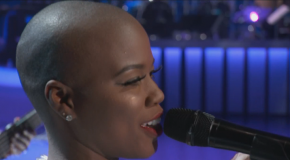 "Watch: V. Bozeman Performs ""Smile"" at the 2015 Soul Train Awards"